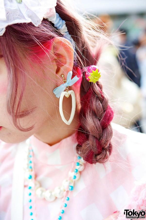 Heart & Bow Earrings