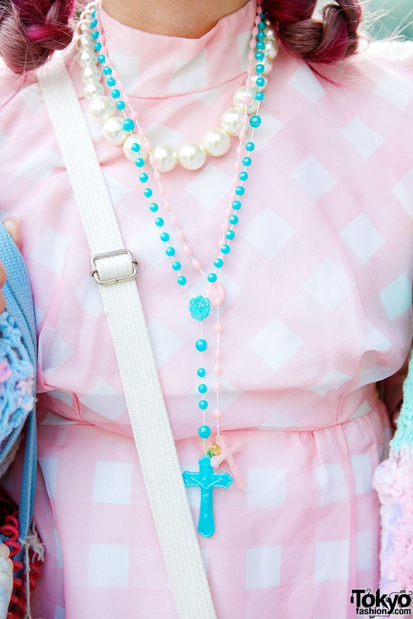 Beads & Cross Necklaces