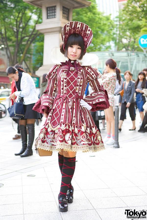 Alice in Wonderland Angelic Pretty Lolita Look