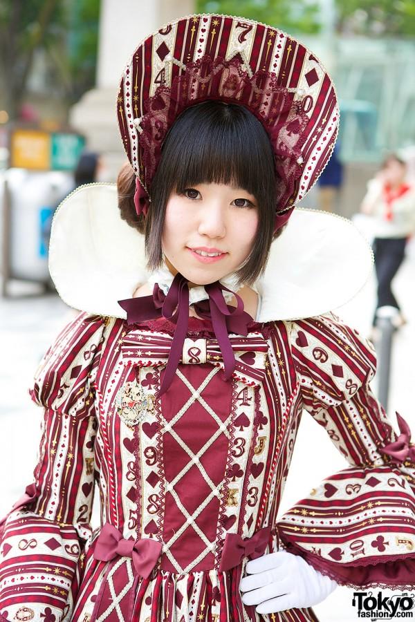 Angelic Pretty Wonder Queen Dress & Bonnet