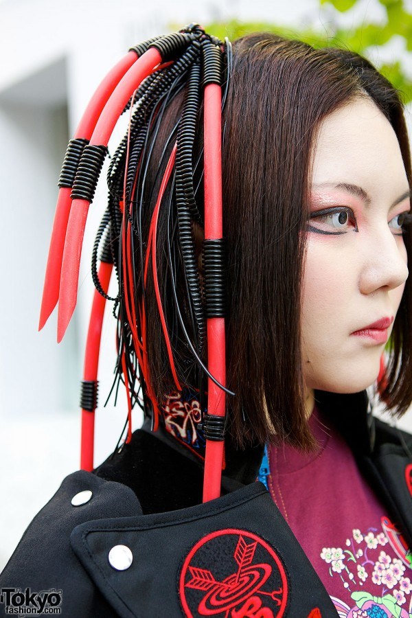 Takuya Angel Cyber Hair Falls
