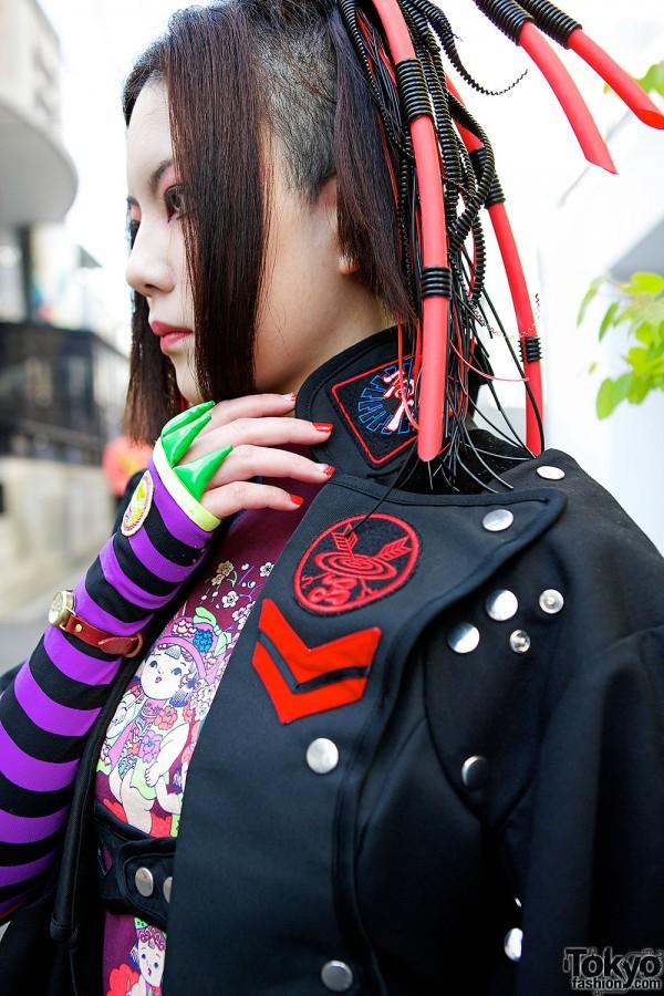 Takuya Angel Hair Falls & Coat