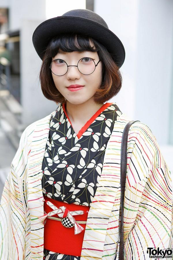 Butterfly Print Kimono