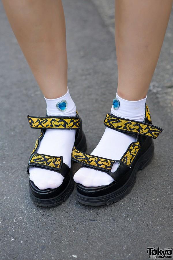 Lowrys Farm Platform Sandals