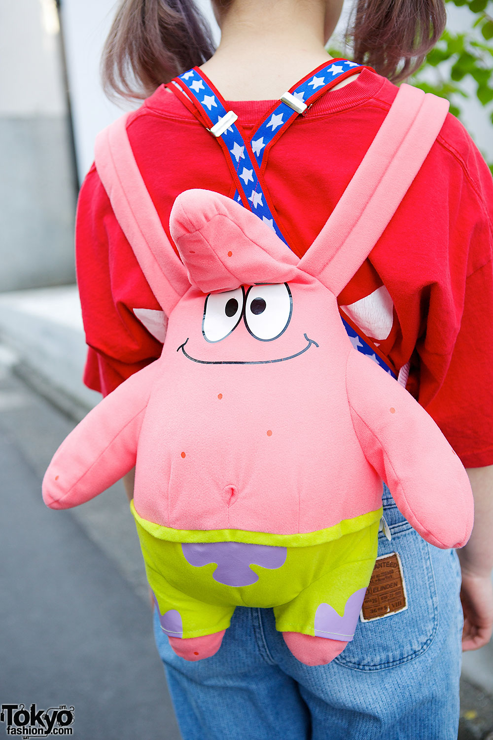 Twin Tails Amp Orange Bangs W Spank Amp Patrick Star