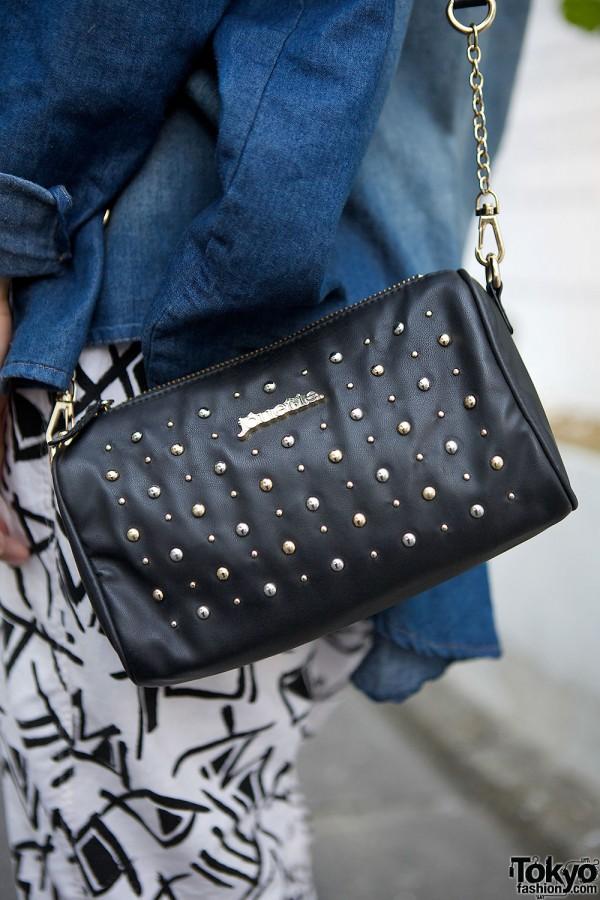 Jouetie Studded Bag