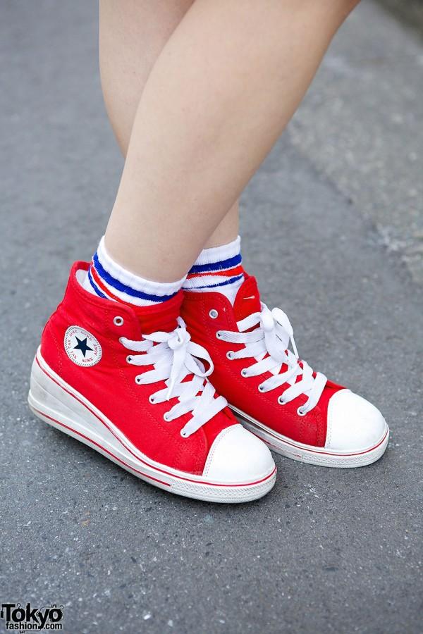 Converse Wedge Sneakers