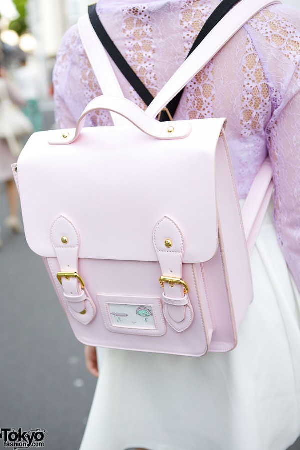 Pink WEGO Backpack
