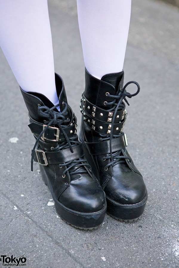 Spinns Studded Boots