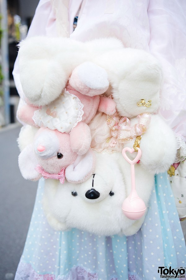 Teddy Bear & Plushies Bag by Freckleat