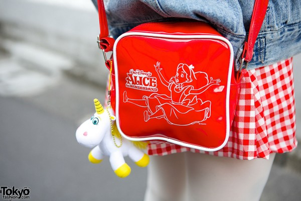 Spinns Harajuku Alice in Wonderland Bag