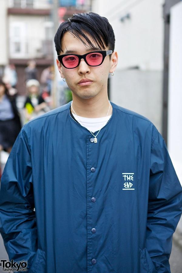 Style Icon Tokyo Jacket & Sunglasses