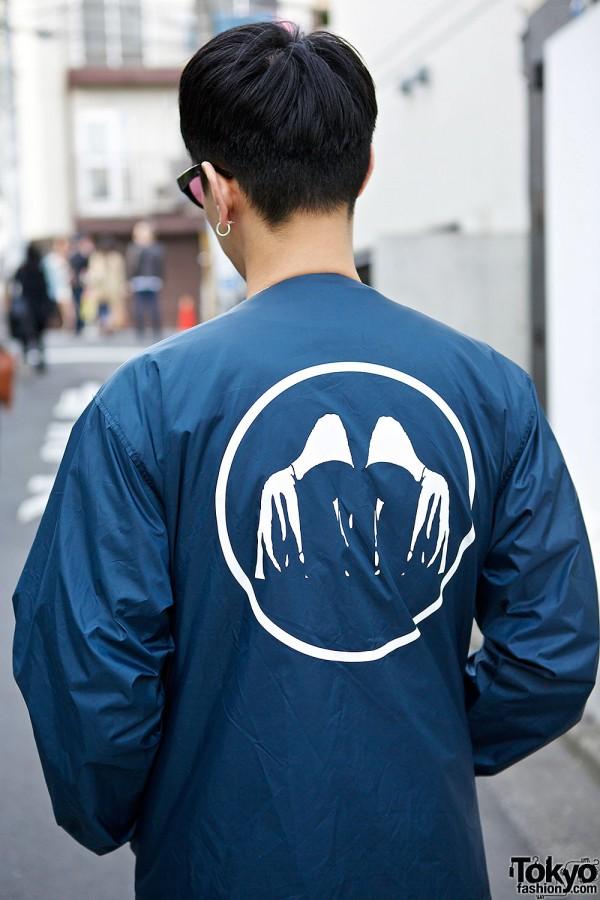 Blue Style Icon Tokyo Jacket