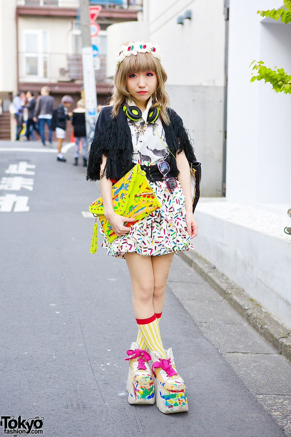 Goocy Top & Skirt in Harajuku