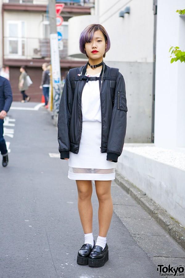 Growze Sheer Inset Skirt
