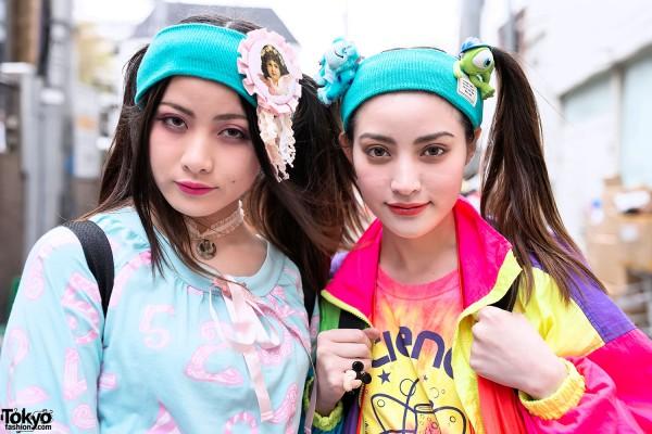 Twintails & Headbands in Harajuku
