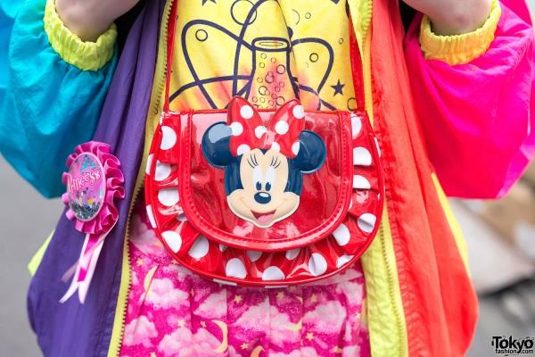 Minnie Mouse Neck Pouch