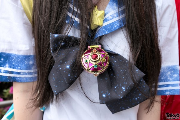 Sailor Moon Pendant in Harajuku