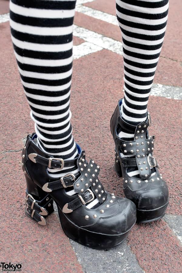 Studded Yosuke Heels