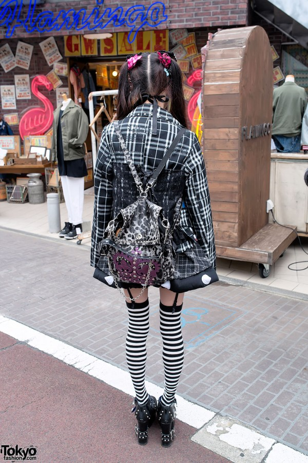 Algonquins Backpack & h.NAOTO in Harajuku