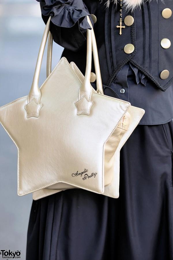 Angelic Pretty Gold Star Bag