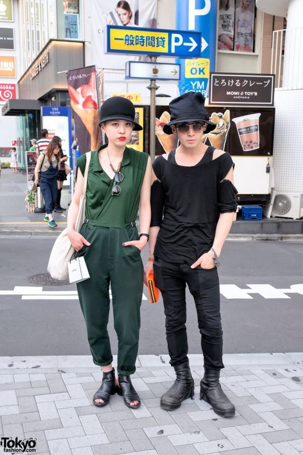 Stylish Harajuku Couple Fashion