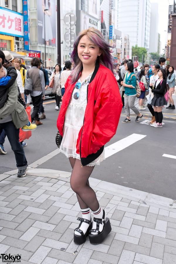 Harajuku Girl in Michiko London Fashion