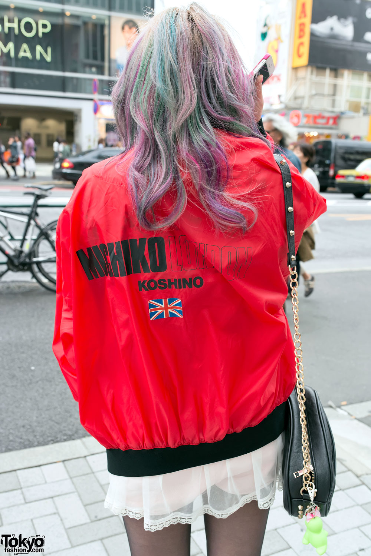 Michiko London Jacket Colorful Hair Amp Lds Platform