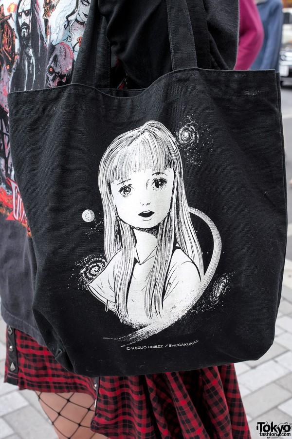 Kazuo Umezu UMEZZ Tote Bag