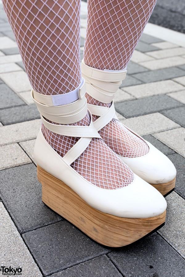 Rocking Horse Shoes & Fishnet Stockings