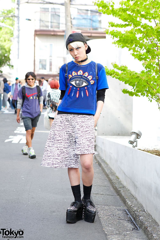 KTZ t-shirt & Monomania Shorts