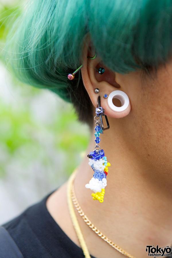 Beads Donald Earring