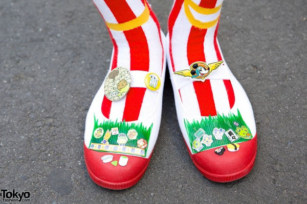 Embellished Shoes in Harajuku