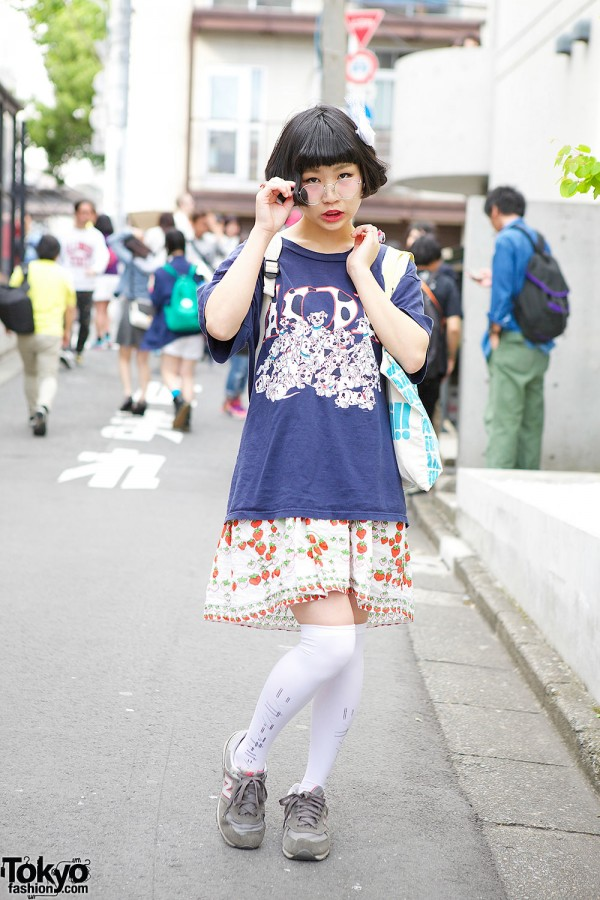 101 Dalmatians T-Shirt & Strawberry Skirt