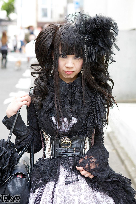 Harajuku Gothic Lolita In H Naoto Frill Hangry Amp Angry