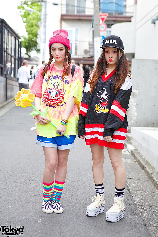 Harajuku Sisters W Tiger Head Backpacks Nadia Wego