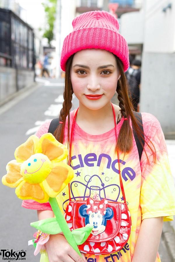 WEGO T-shirt & Plushie Flower