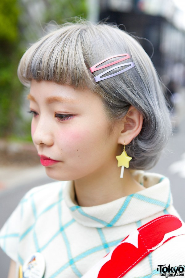 Pastel Hair with Pins