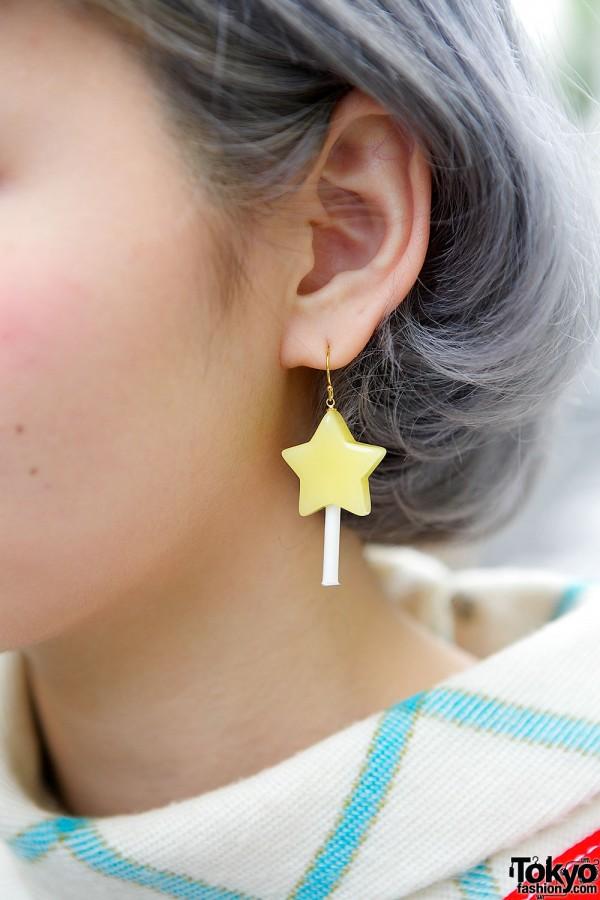 Gargle Star Earrings