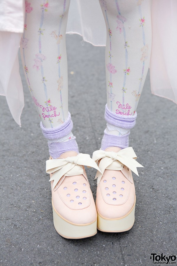 Belly Button by Tokyo Bopper Pastel Shoes