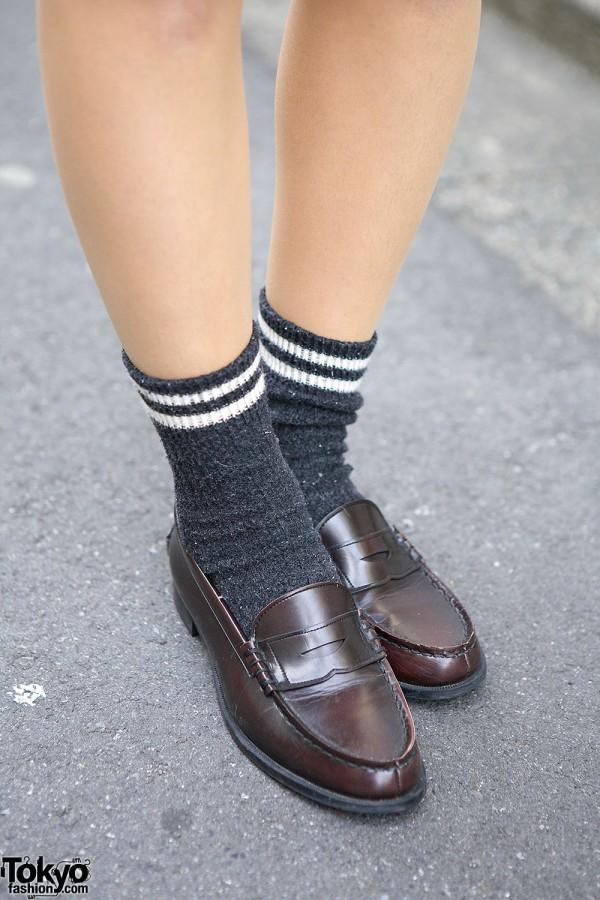 Japanese Loafers & Socks
