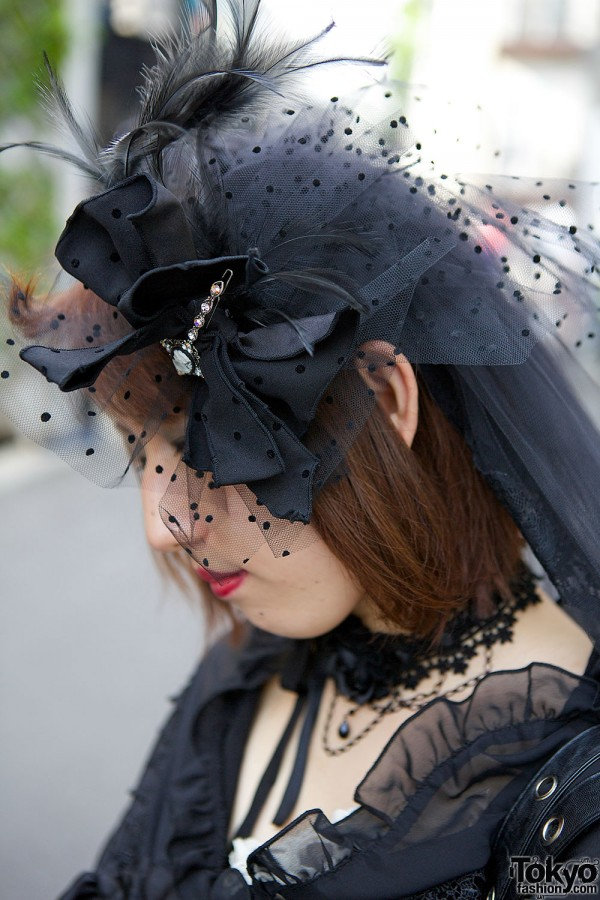 Feather & Bow Hat