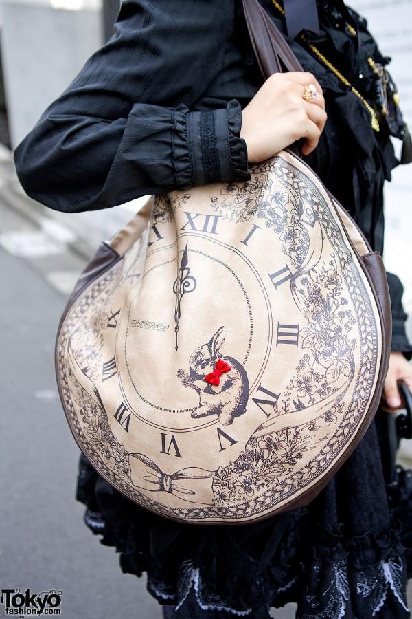 Round Clock Bag