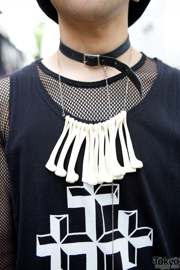 OS Accessories Bone Necklace