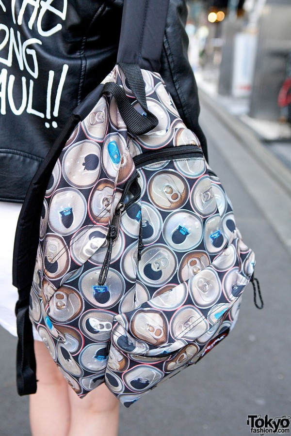 Eastpak Rucksack With Can Print