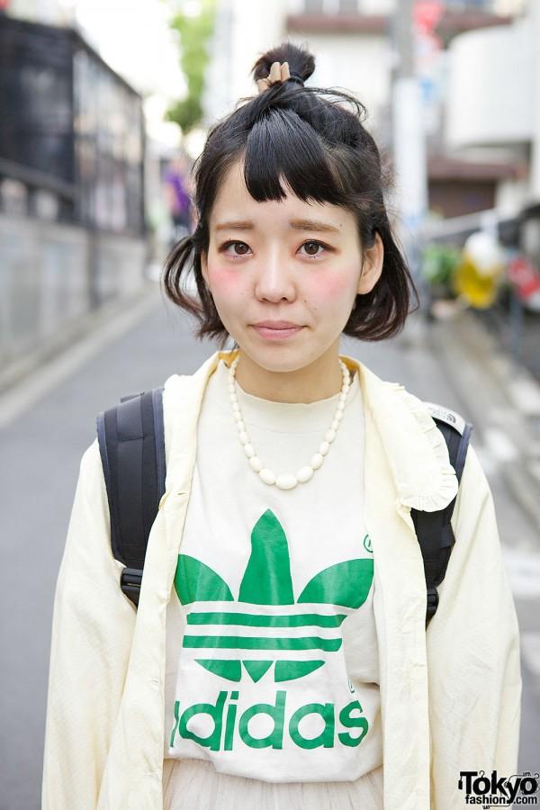 Resale Adidas T-Shirt in Harajuku