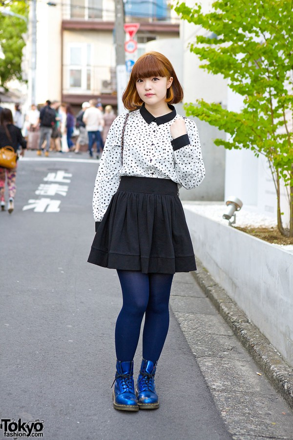 Heather Skirt in Harajuku
