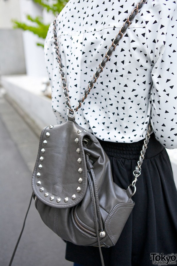 Moussy Studded Backpack