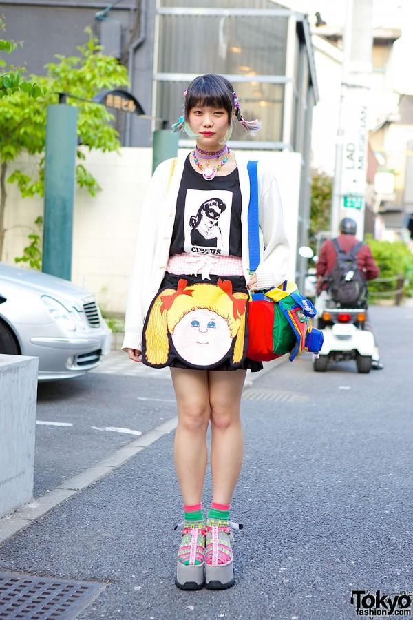 Elleanor Wearing Jenny Fax in Harajuku