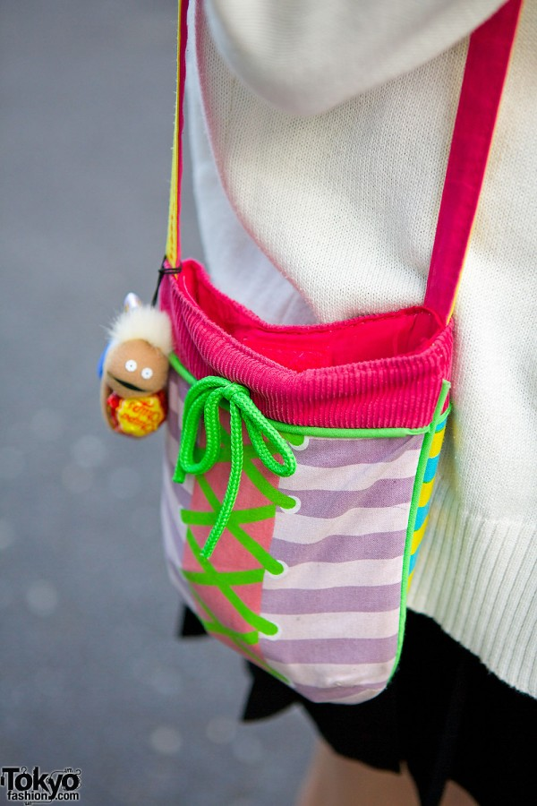 Corset Messenger Bag